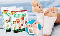 Детоксикационный пластырь для стоп Кinoki, пластырь для выведения токсинов