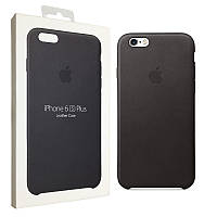 Чехол Apple для iPhone 6/6s Plus Leather Case Black (MKXF2ZM/A)