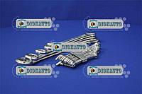 Набор ключей рожково-накидных TOYA (15шт) 6-32 мм  (51640)