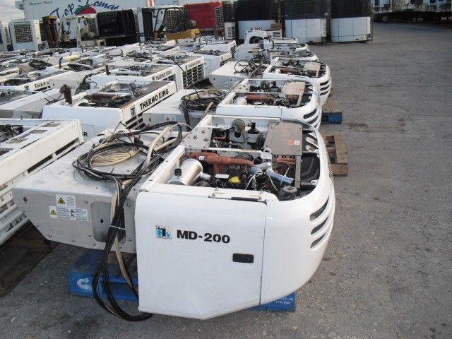 Разборка холодильных агрегатов Carrier thermoking
