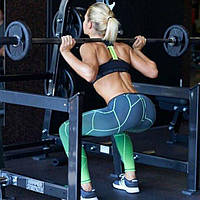 Женские спортивные лосины 4028