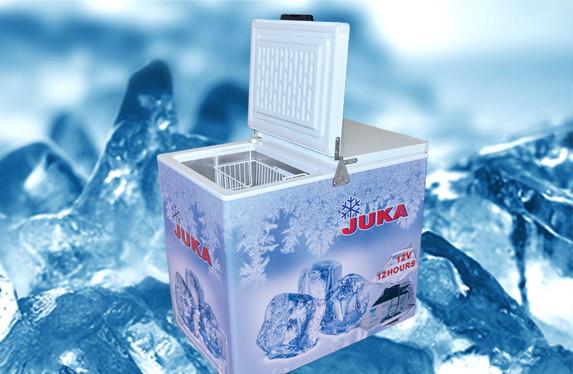 Ларь морозильный с глухой крышкой Juka M300Z 12-V