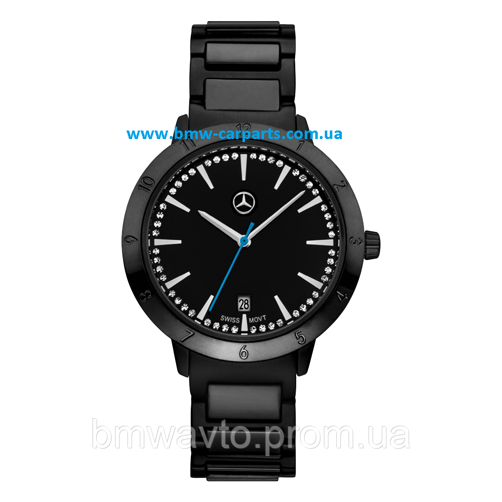 Женские наручные часы Mercedes-Benz Women's Watch, Black Edition
