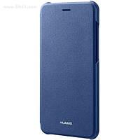 Чехол Flip Cover для Huawei P8 Lite 2017 blue
