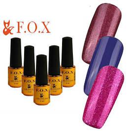 Гель лаки F.O.X. Pigment, 6 мл