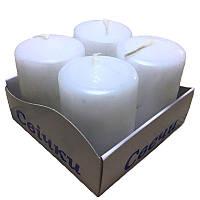 Свечи парафиновые СТОЛБИК (40mm х 60mm)