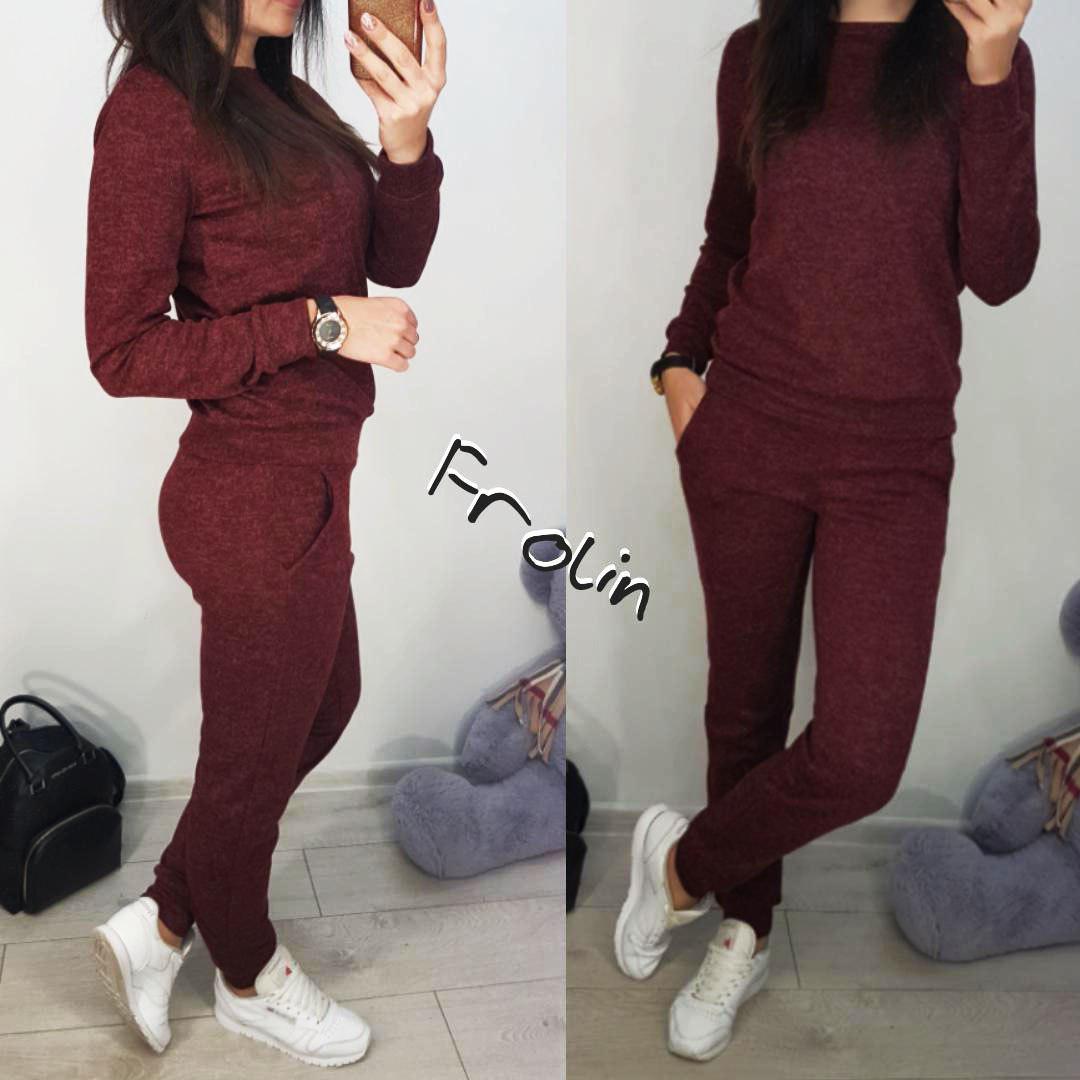4021614d Ангоровый женский спортивный костюм на каждый день 5705171 - Интернет-магазин  одежды
