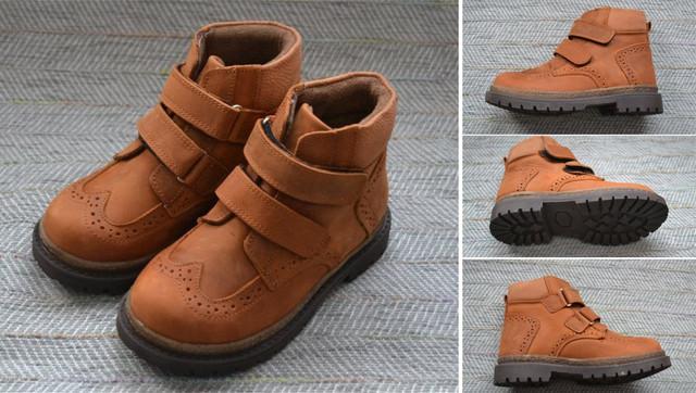 Турецкие детские ботинки фото