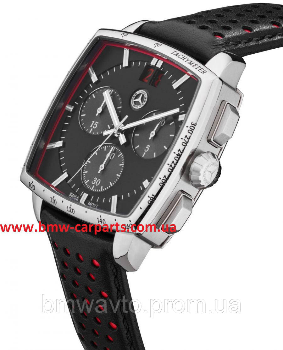 Мужские наручные часы - хронограф Mercedes-Benz Men's chronograph watch, Classic, Rally