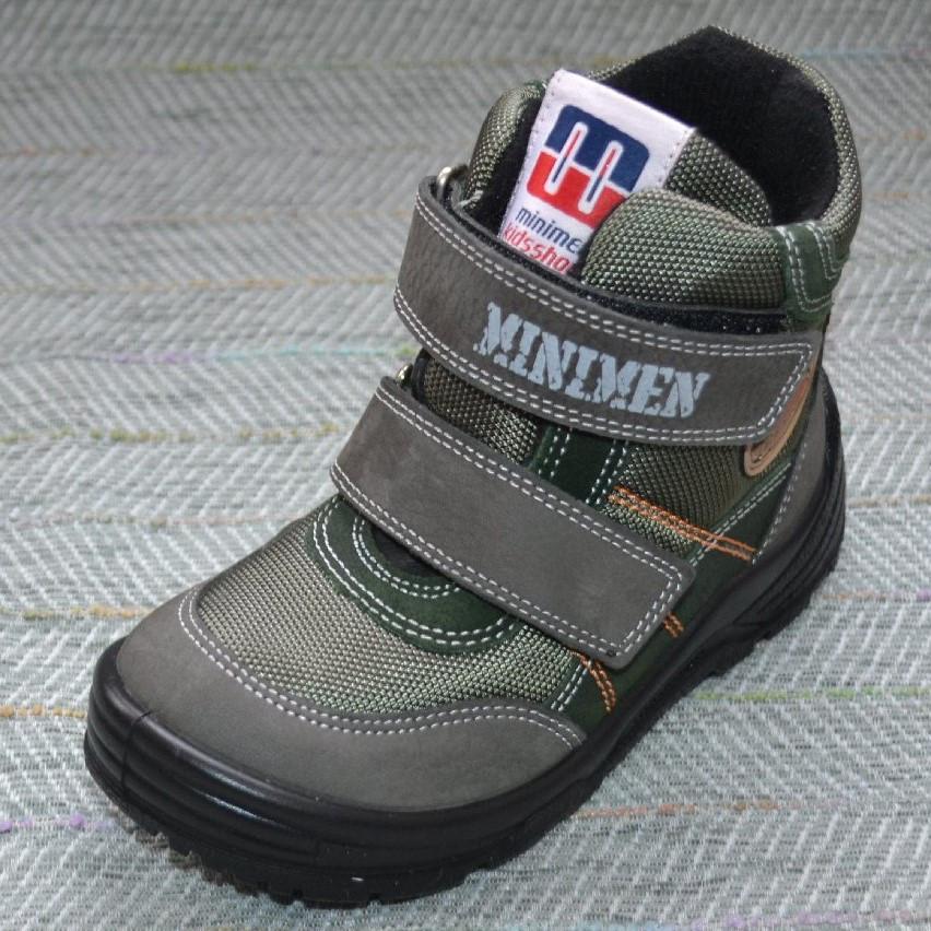 Ботиночки мальчик демисезон, Minimen размер 26 27