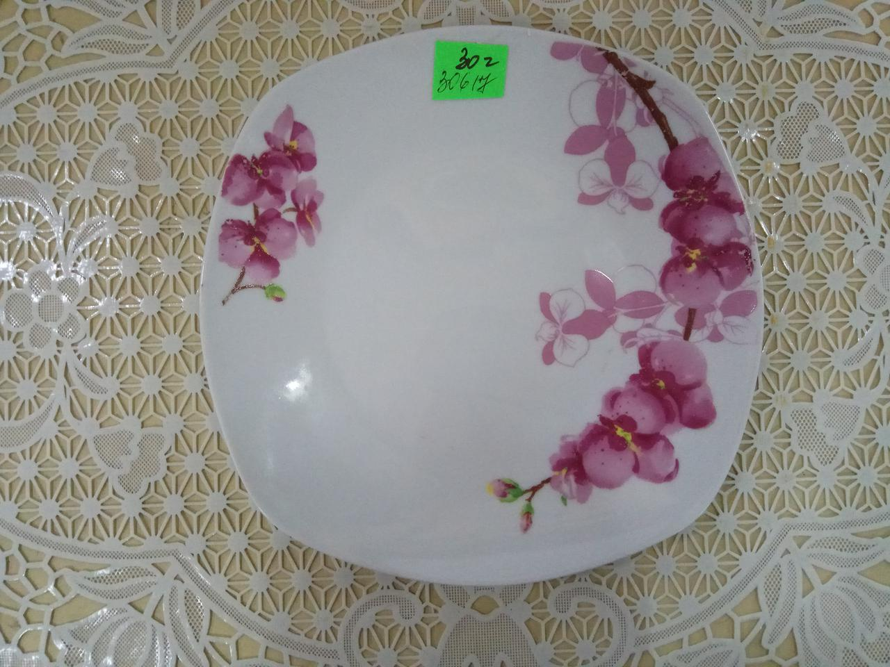 Орхідея квадр. тарілка для 2-го 8