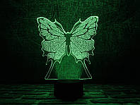"""Сменная пластина для 3D ламп """"Бабочка"""" 3DTOYSLAMP, фото 1"""