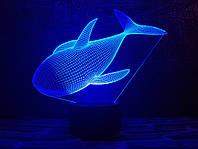 "Сменная пластина для 3D ламп ""Касатка"" 3DTOYSLAMP, фото 1"