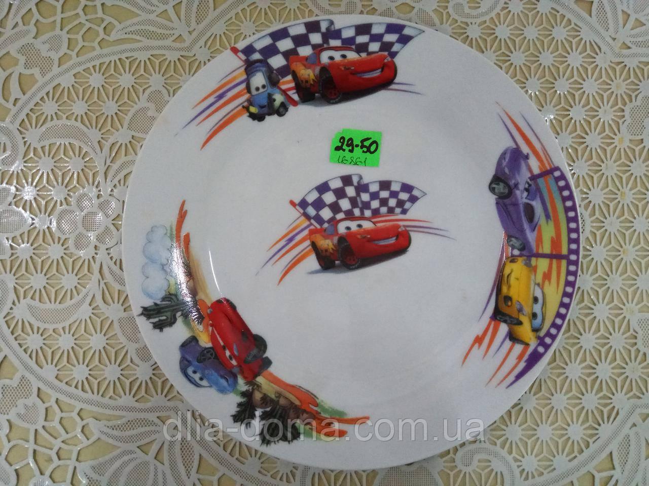 Тарелка для второго Тачки  №8