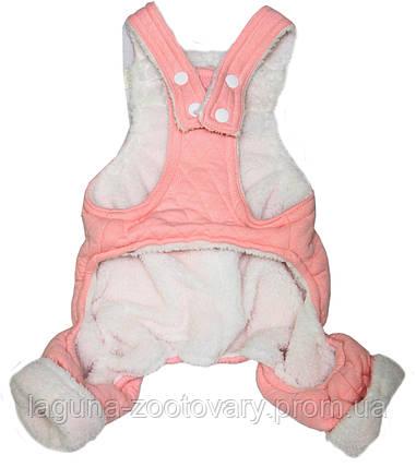 Комбинезон МОНТИ для собак, розовый, размеры  S, M, L, XL, фото 2