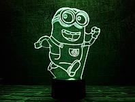"""Сменная пластина для 3D светильников  """"Миньон"""" 3DTOYSLAMP, фото 1"""