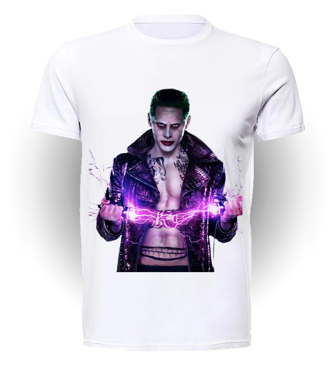 Футболка мужская GeekLand Отряд Самоубийц Suicide Squad Leto Joker SS.01.052