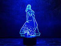 """Сменная пластина для 3D светильников """"Золушка"""" 3DTOYSLAMP, фото 1"""