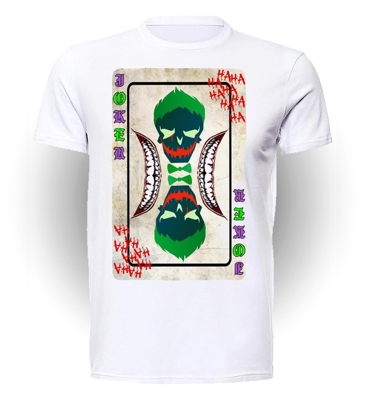 Футболка мужская GeekLand Отряд Самоубийц Suicide Squad Joker's card SS.01.060