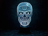 """Сменная пластина для 3D светильников """"Череп"""" 3DTOYSLAMP, фото 1"""