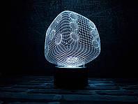 """Сменная пластина для 3D светильников """"Кубик"""" 3DTOYSLAMP, фото 1"""