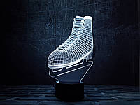 """Сменная пластина для 3D светильников """"Фигурное катание"""" 3DTOYSLAMP, фото 1"""