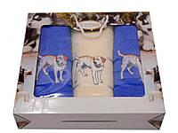 Набор полотенец Gulcan Dogs 3-ка (2л+б) 10