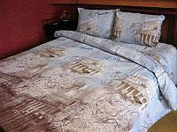 Комплект постельного белья Tirotex жатка полуторка полуторный 4