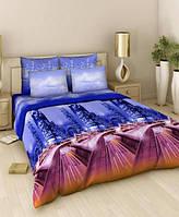 Комплект постельного белья Tirotex жатка двуспальный двуспальный 3
