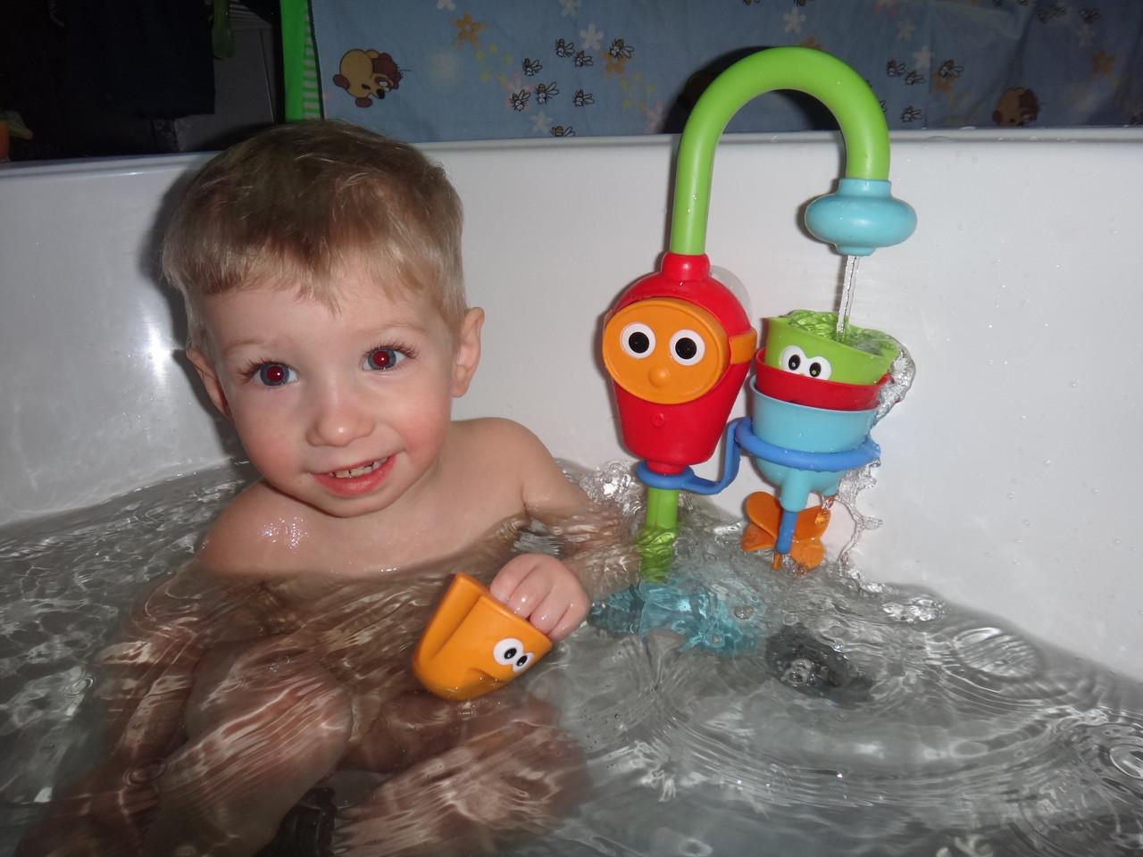 Волшебный кран водопад для ванной от 1 года