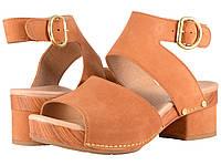 Туфли на каблуке (Оригинал) Dansko Minka Camel Milled Nubuck