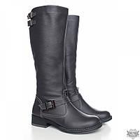 Женские кожаные зимние сапоги Villomi Tera-03ser