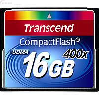 Карта памяти Transcend CompactFlash 400x 16Gb