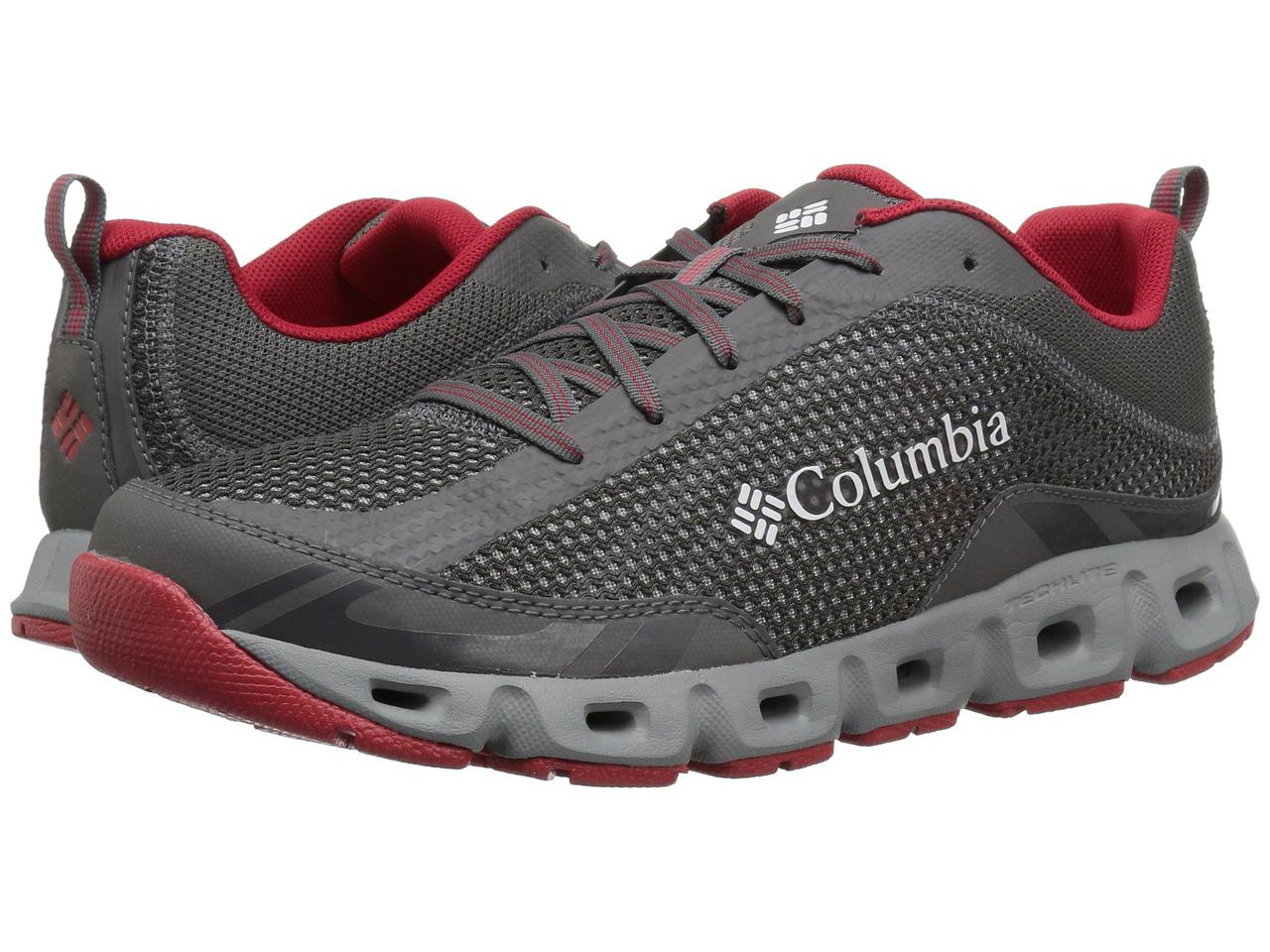 5c7a942d8 Кроссовки/Кеды (Оригинал) Columbia Drainmaker IV City Grey/Mountain Red