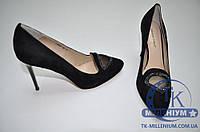 FASHION PYMES туфли женские из натурального замша J1369A102-C09/W04 Размер:35,36,37