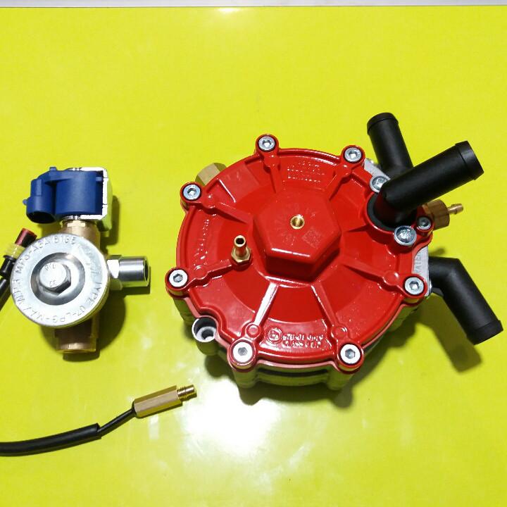 Газовий редуктор STAG R01 185kw до 250 л. с. з ЕМК газу і датчиком температури редуктора