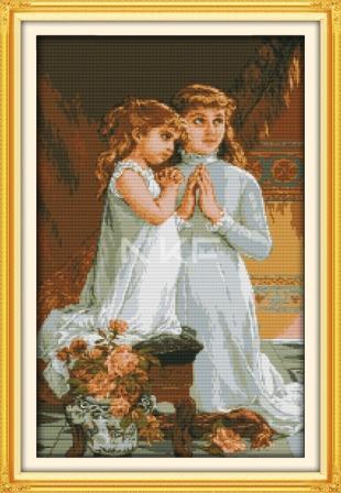 Вечерняя молитва R376 Набор для вышивки крестом
