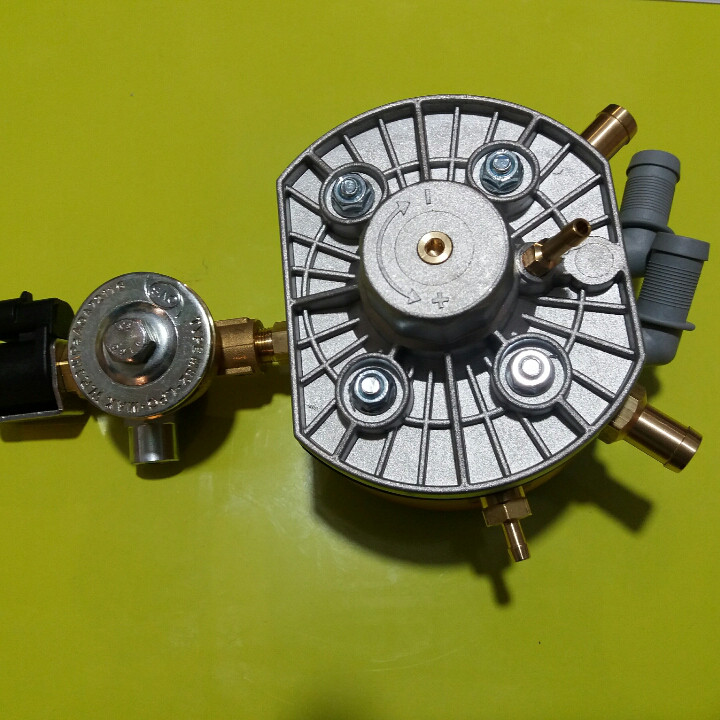 Газовый редуктор KME Gold до 320 л.с. с ЭМК газа
