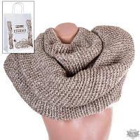 Шерстяной женский шарф-хомут ETERNO DS1309-11