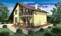 Построить каркасный дом из сип панелей по канадской технологии  под ключ Харьков