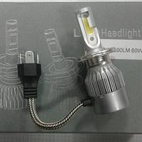 Лампа H 4  LED 12V  60/60W P43T 6000К 7200LM комплект 56944z, фото 1