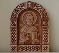 Резная икона Николая Угодника (205х270х18), фото 1