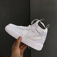 Кроссовки Nike Air Force 1 UltraForce White. Живое фото. Топ качество! (аир форс, эир форсы)