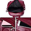 Рюкзак женский городской из кожзама Jenna черный, фото 6