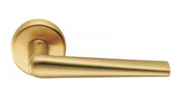 Ручка для двери COLOMBO ROBOTRE CD 91 матовое золото