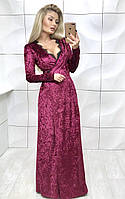 Платье вечернее 42-46 р. т. бархат