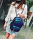 Рюкзак женский городской с пайетками , фото 2