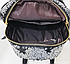 Рюкзак женский городской с пайетками , фото 10