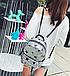 Рюкзак женский городской с пайетками , фото 4