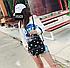 Рюкзак женский городской с пайетками , фото 5